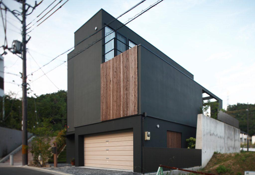 009.千本格子の家